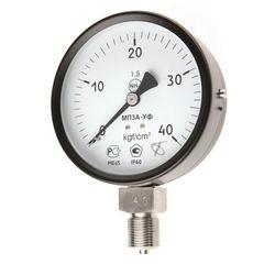 Манометры, мановакуумметры, вакуумметры, МП3-Уф, МВП3-Уф, ВП3-Уф. Диаметр: 100 мм