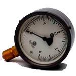 Манометры, мановакуумметры, вакуумметры, МТП-100 (МВТП-100, ВТП-100) . Диаметр: 100 мм