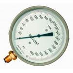 Манометры, вакуумметры точных измерений мти, вти, мвти кислотостойкие класс точности 0,6.