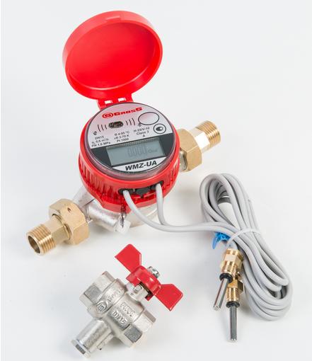 Счётчик измерения тепловой энергии WMZ-UA