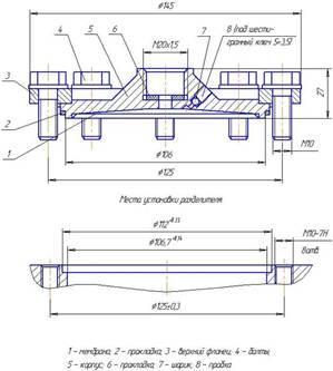 Схема 2 РМ модели 5320