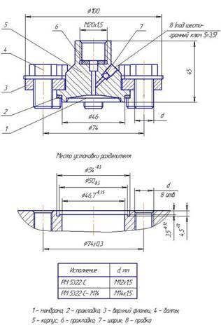 Схема 4 РМ модели 5322