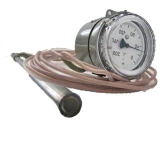 Термометр манометрический ТКП-100М1, ТГП-100М1