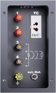 Высокоточные калибраторы Серия TP 38 000 Е,TP 38 650 Е Измерительное устройство - Доукомплектовка